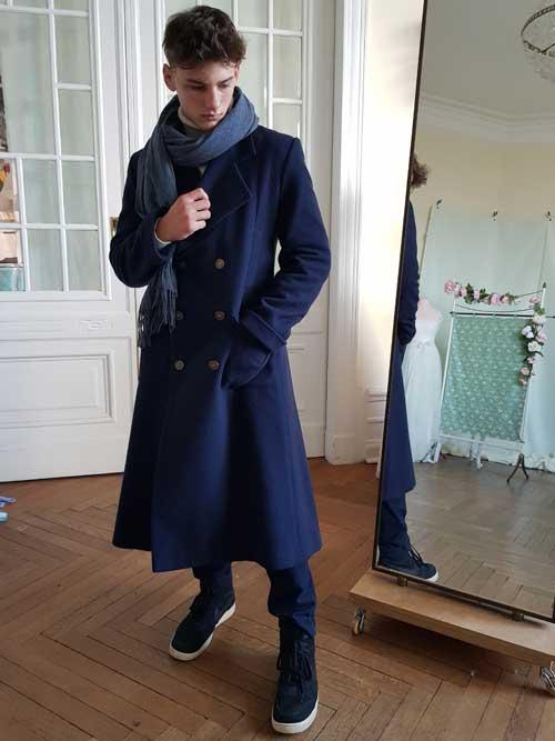 Herrenmantel-Sherlock