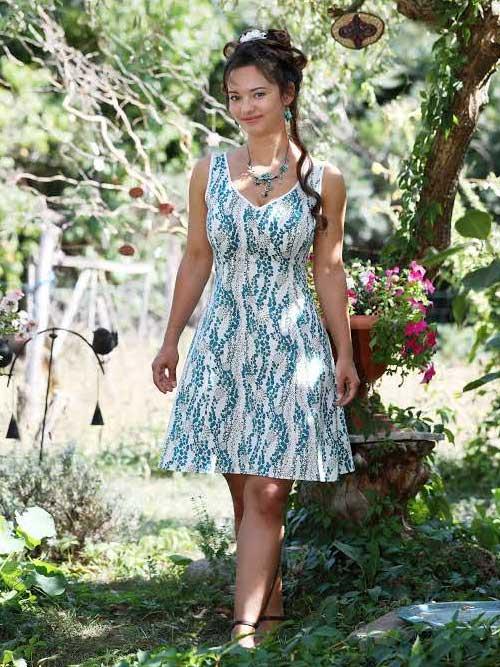 Huebsches-Sommerkleid