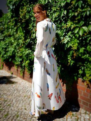 Federleichtes Hemdblusen-Kleid