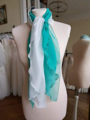 Sommerlicher Chiffon-Schal